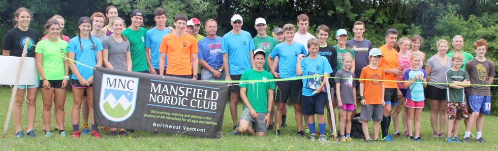Mansfield Nordic Club summer outing
